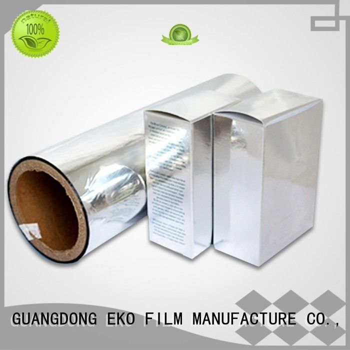 thermal film metalized film manufacturer economic pdg FSEKO company