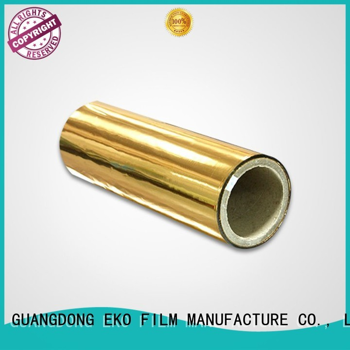 metallised pet film thermal metalized film manufacturer FSEKO Brand