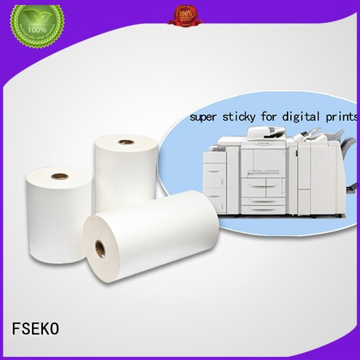 dbm dbg bonding matte thermal Lamination Film Prices FSEKO Brand