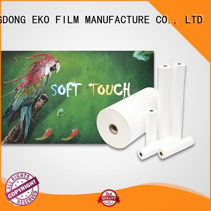 glossy lamination film velvet soft thermal Warranty FSEKO