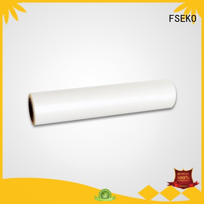 Wholesale price pet thermal lamination film FSEKO Brand