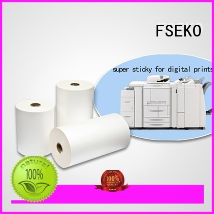 FSEKO Brand super thermal dbm matte super stick laminating film
