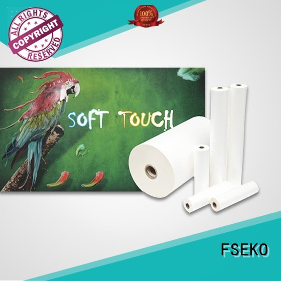 lamination soft glossy lamination film FSEKO manufacture