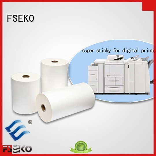thermal Lamination Film Prices matte super super stick laminating film FSEKO Brand