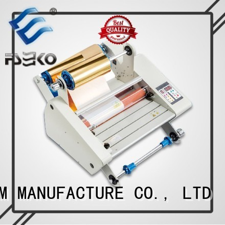 FSEKO Brand automatic speed laminator custom Small Laminating Machine