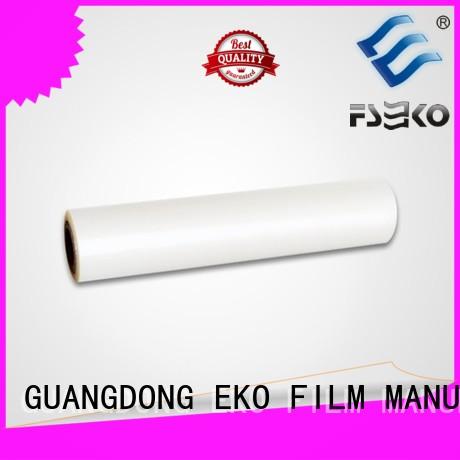 thermal Custom glossy pet thermal lamination film matte FSEKO