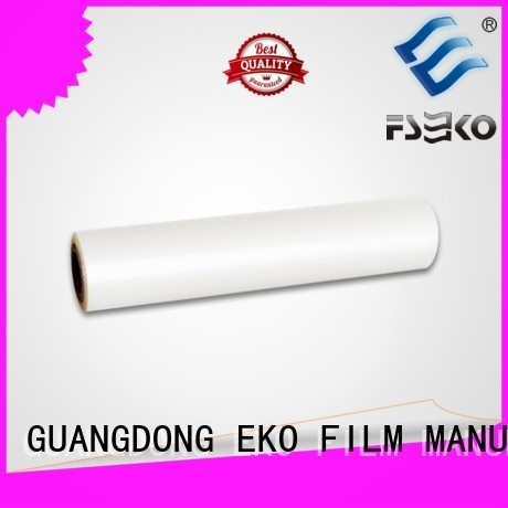 thermal Custom glossy pet thermal lamination film matte FSEKO