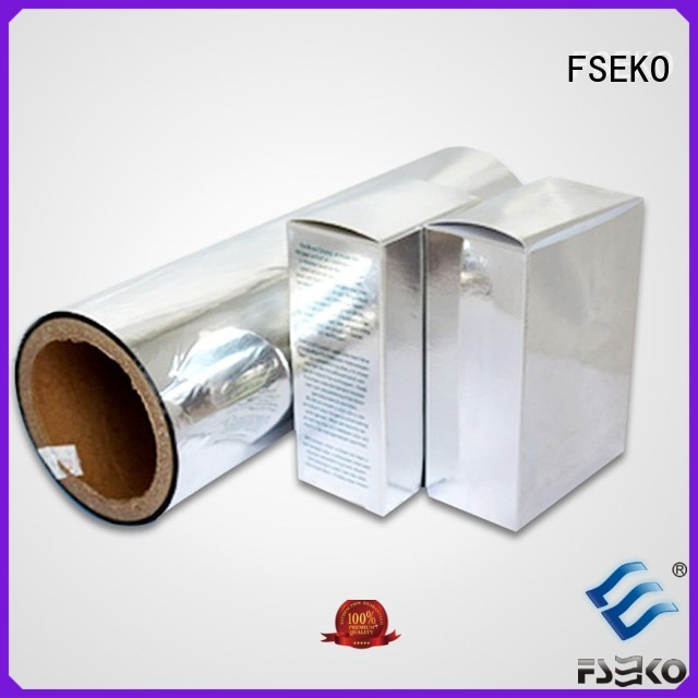 FSEKO Brand sale thermal metallised pet film