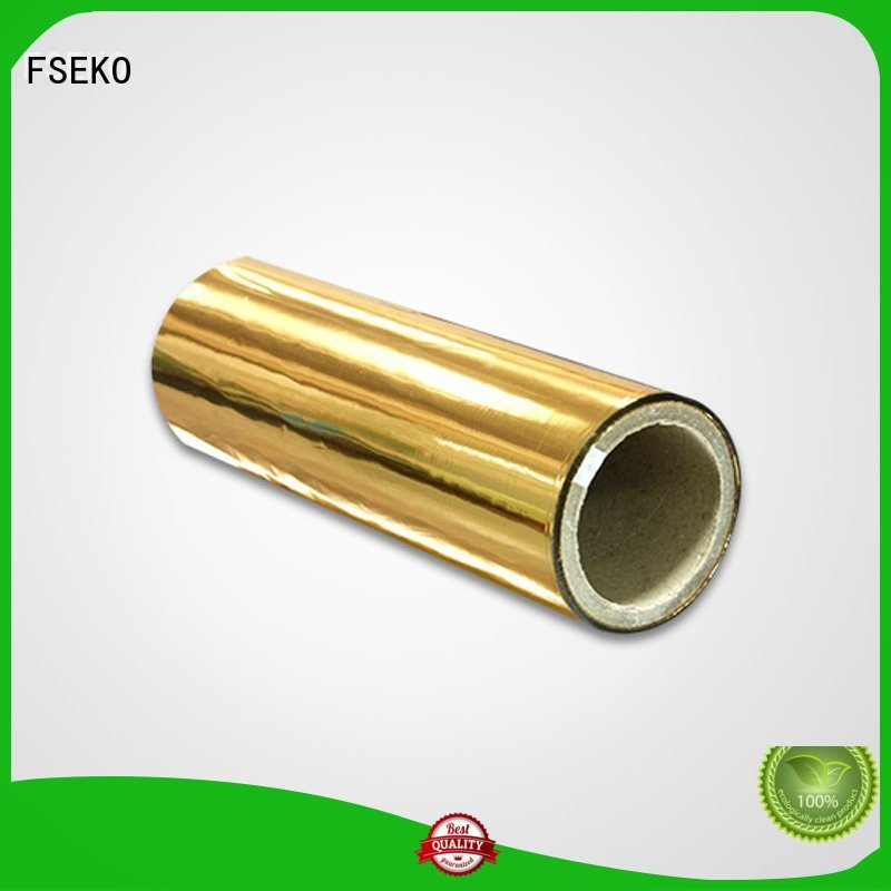 FSEKO Brand metalized film metalized film manufacturer pds factory