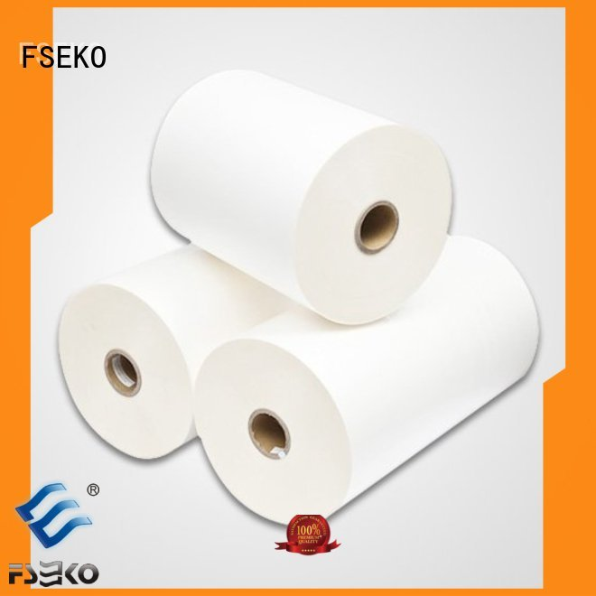 thermal glossy made lamination FSEKO Brand bopp thermal lamination film supplier