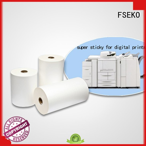 Hot gloss thermal Lamination Film Prices film FSEKO Brand