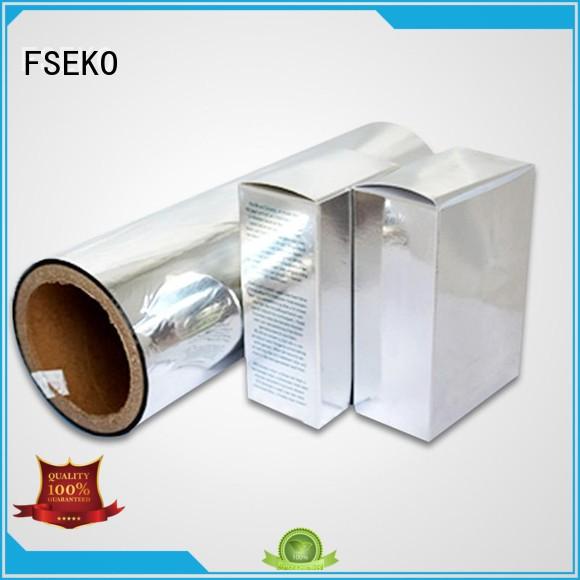 Hot metallised pet film thermal FSEKO Brand