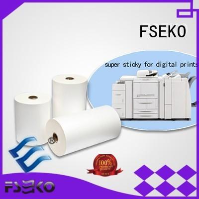 FSEKO Brand dbg thermal super stick laminating film manufacture