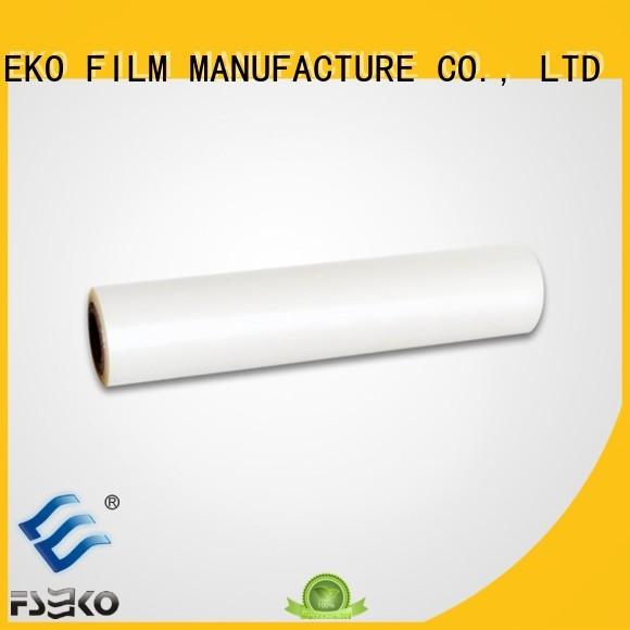 Hot matte pet film roll price FSEKO Brand