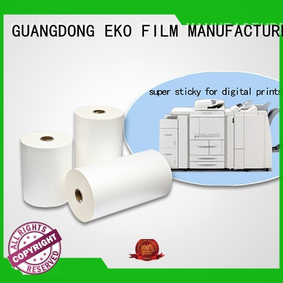 dbm Custom glossy super stick laminating film matte FSEKO
