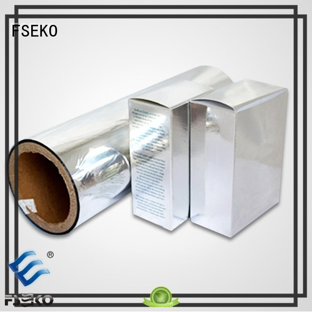 Hot metalized film manufacturer pet FSEKO Brand