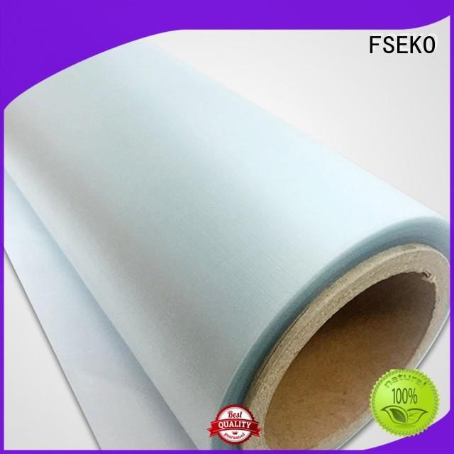 Custom pgm low embossing film FSEKO price