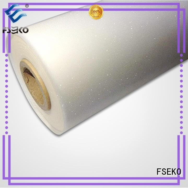 FSEKO Brand lamination decoration hairline custom embossed plastic sheet