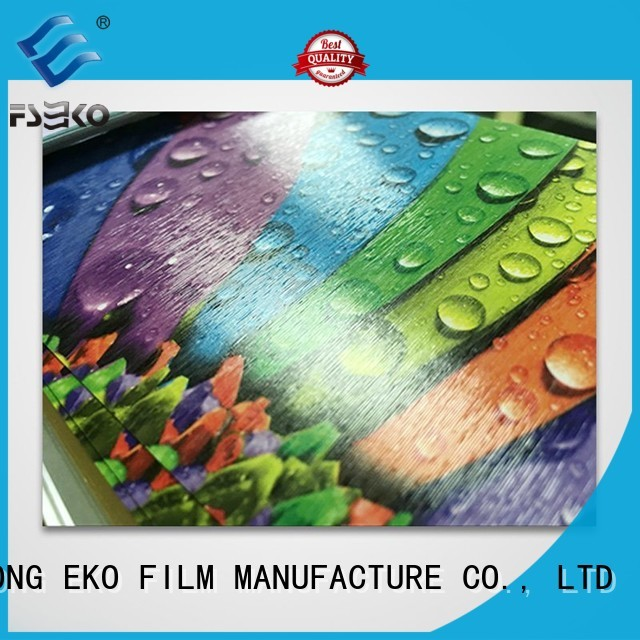 FSEKO Brand leather pem embossing film low factory
