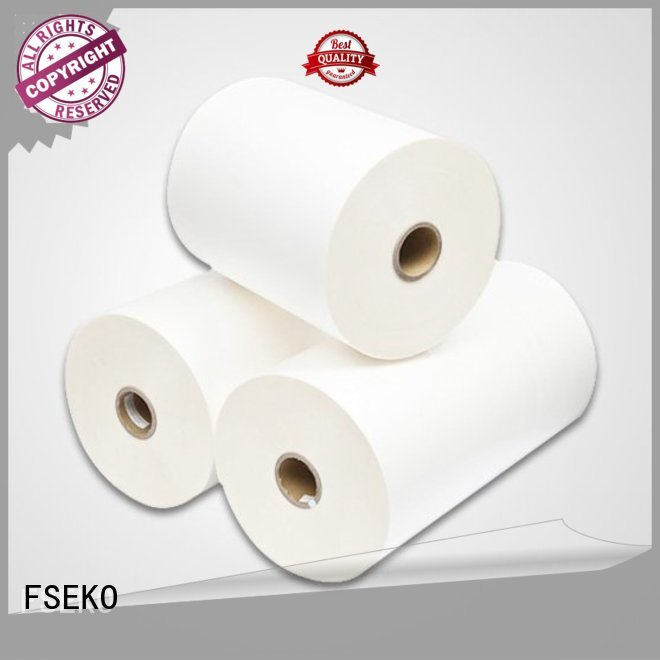 FSEKO Brand made thermal print bopp thermal lamination film manufacture