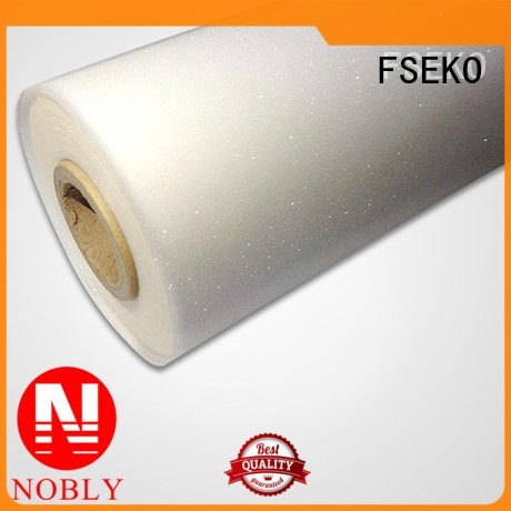 pem Custom linen thermal embossing film FSEKO phm