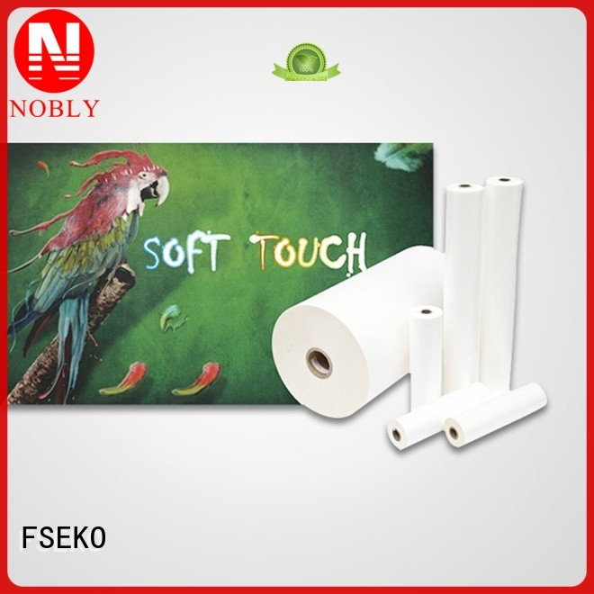 glossy lamination film thermal touch Bulk Buy soft FSEKO
