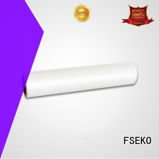 roll Custom glossy pet thermal lamination film lamination FSEKO