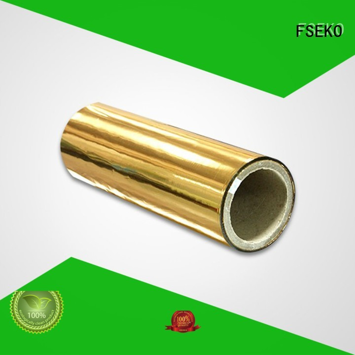 metalized sale metallised pet film FSEKO manufacture