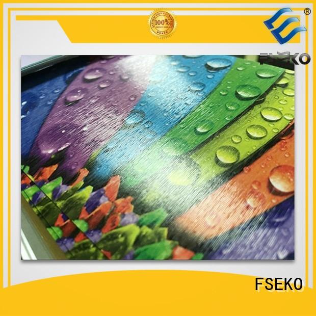 Hot film embossed plastic sheet pgm FSEKO Brand