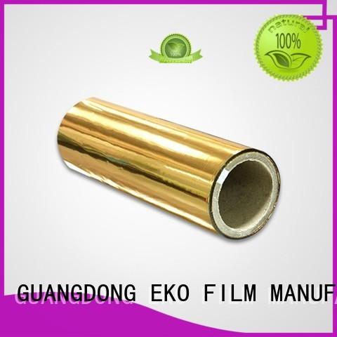 Hot metalized film manufacturer film FSEKO Brand