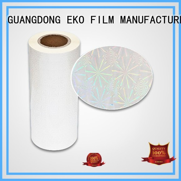 Quality FSEKO Brand hologram film manufacturers bt5 thermal