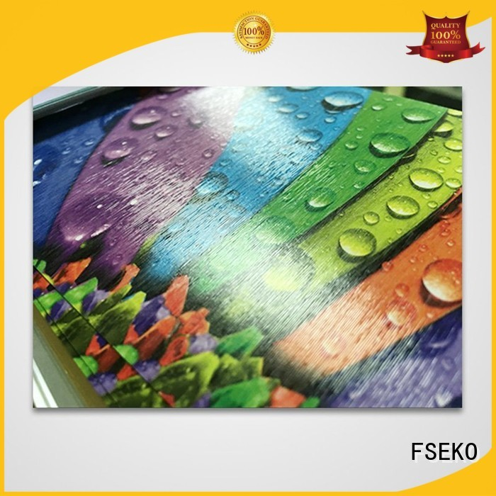 film leather embossed plastic sheet price linen FSEKO Brand