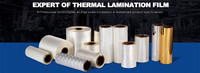 thermal lamination film manufacturer, thermal lamination film supplier, custom thermal lamination film