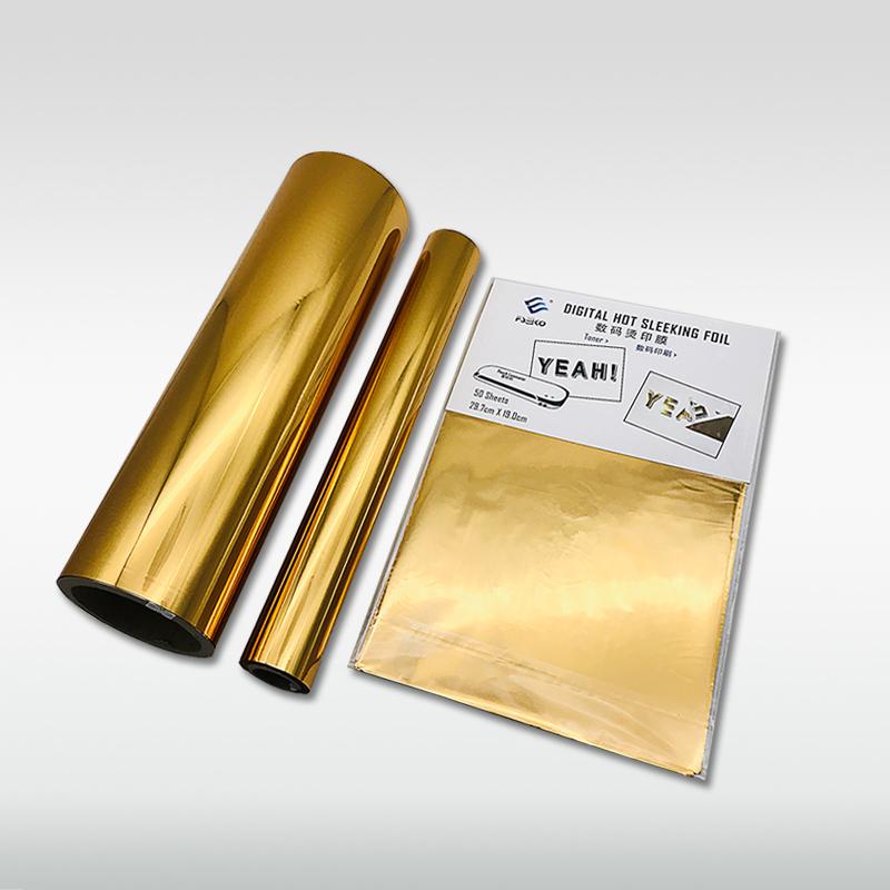 EKO Digital hot sleeking film: Gold color