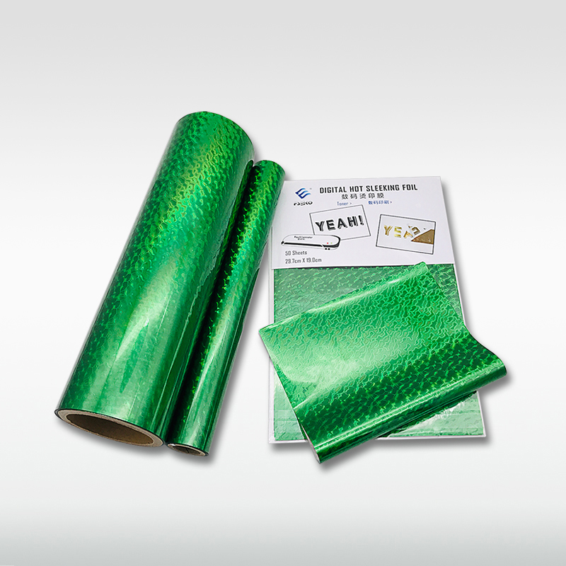 EKO Digital hot sleeking film: Green Wave