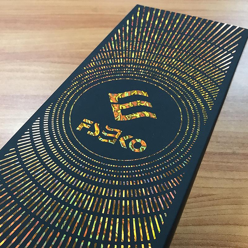 EKO Digital hot sleeking film: Yellow Wave